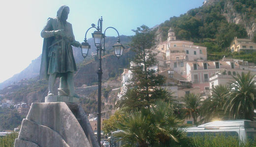 Passeggiata  fra i vicoli d'Amalfi