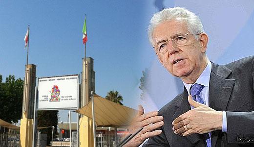 Il Presidente Consiglio Mario Monti a Bari  per la 76^ edizione della FIERA DEL LEVANTE