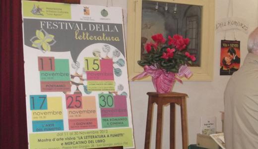 """Al """" Lino Agnini"""" inaugurato il Festival della letteratura"""