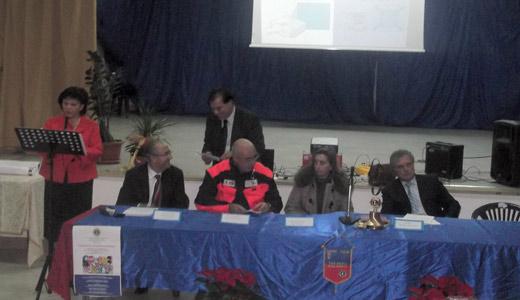 """Meeting sulla sicurezza stradale alla """"G. Pascoli""""di San Giorgio J."""