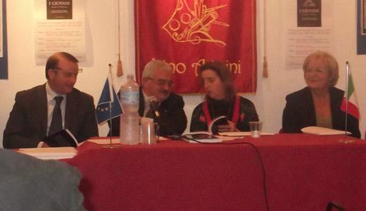 Angelo Scialpi presenta le sue Tavole di riflessione alla cittadinanza sangiorgese