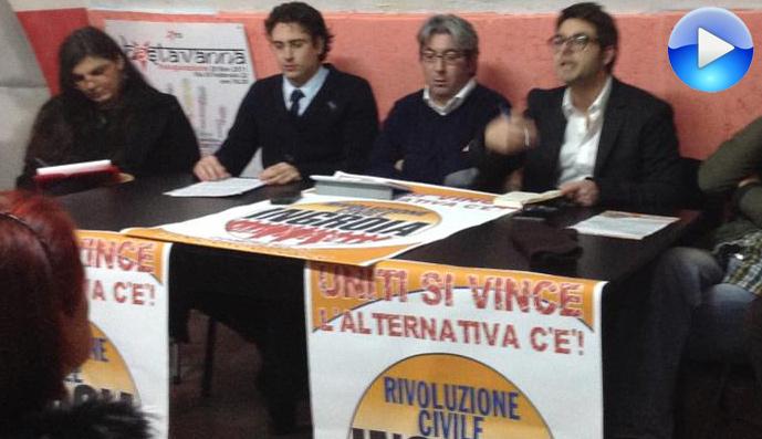"""Presentazione della lista """"rivoluzione civile"""" San Giorgio Ionico  Read more: http://www.giornalearmonia.it/presentazione-lista-di-rivoluzione-intervento-del-on-pierfelice-zazzera/#ixzz2JCoi6jJg  Under Creative Commons License: Attribution"""