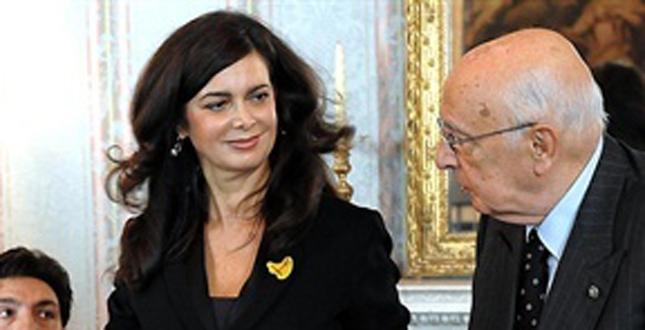Laura boldrini presidente della camera dei deputati un for Vice presidente della camera dei deputati