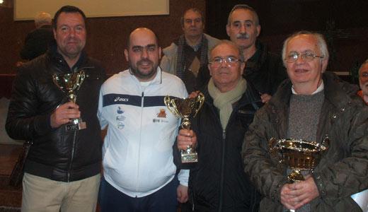 Conquistati a Bari tre trofei nel 51° campionato di Dama Italiana