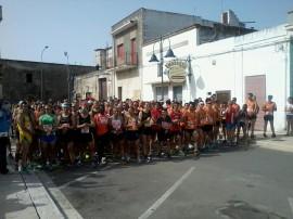 """La partenza: 3° trofeo podistico """"Invaso Pappadai Città di Monteparano"""""""
