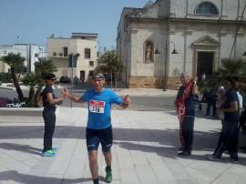 Leo Giovanni 1 classificato Liberi su 6 Km
