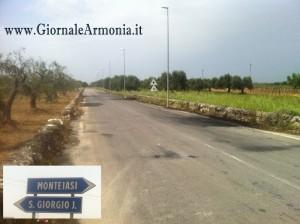 Tentativo di Rapina a Portavalori sulla Grottaglie-San Giorgio. La prontezza del Vigilante sventa il delitto.
