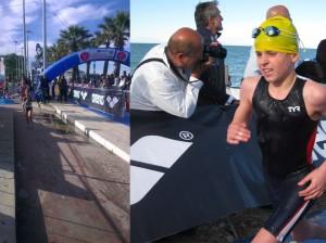 Sconosciuti da Taranto alla ribalta nazionale Campionato Italiano Aquathlon giovanissimi