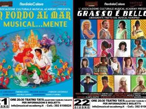21 E 22 GIUGNO: LA MUSICAL ACADEMY  AL TEATRO TATA' DI TARANTO.