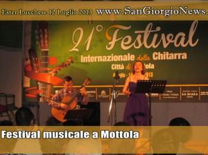 Il Festival musicale a Mottola