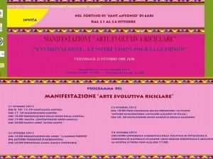 """ARTE EVOLUTIVA RICICLARE"""