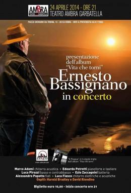 Ernesto Bassignano nuovo Cd e concerto    Intervista esclusiva