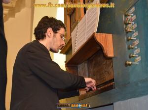 Il concerto dell'organista Francesco Bccolieri.