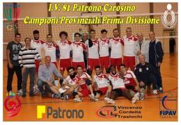 I.V.'81 PATRONO CAROSINO