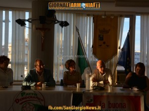La buona scuola, dibattito pubblico. Patto Democratico San Giorgio 27062015 (1)