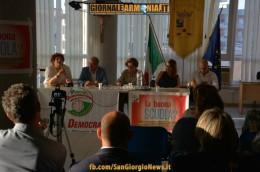 La buona scuola, dibattito pubblico. Patto Democratico San Giorgio 27062015 (17)