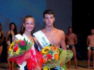 Miss e Mister Taranto 2015 Nadia La Sorsa e Francesco Albrizio