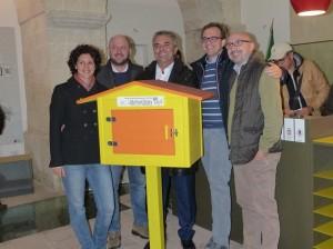 Mini biblioteche Made in Taranto