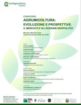 Confagricoltura - convegno agrumi Massafra