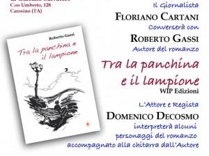 PRESENTAZIONE LIBRO DI ROBERTO GASSI SABATO 23 APRILE