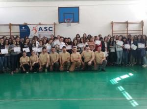 Un corso di difesa personale dedicato a circa 220 studentesse dell'Istituto