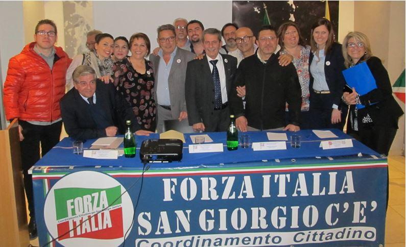 San giorgio ionico i deputati rotondi e cantone rif for Deputati di forza italia