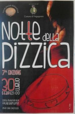 """LA """" NOTTE DELLA PIZZICA A FRAGAGNANO """" - VII EDIZIONE"""