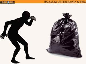 RACCOLTA DIFFERENZIATA & privacy