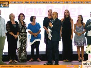 TAPPA ALLA MONGOLFIERA PER IL CONCORSO LADY MISS DELLA FAS GROUP DI FRANCESCO SPINA OSPITE GABIRELE ESPOSITO