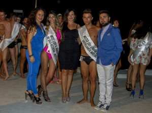 Miss & Mister Terra Jonica 2016 Castellaneta Marina_Silvia Miccolis e Simone Forleo fra gli organizzatori