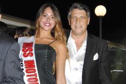 Valentina Colecchia e il patron Bruno Dalto