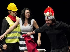 Buona la prima per la stagione teatrale del Cinema Teatro Orfeo successo clamoroso con Lillo e Greg