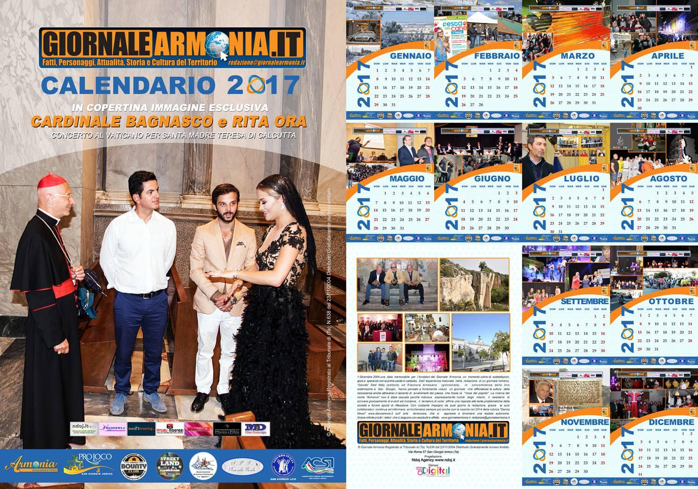 Calendario Armonia 2017