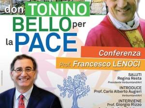 Locandina 1 La voce di don Tonino Bello per la Pace