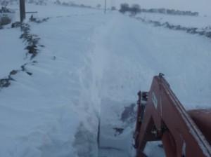 Emergenza neve 2017 Campi provincia di Taranto