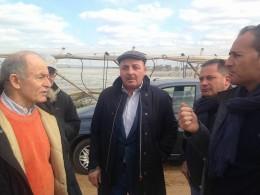 Francesco Psseri, Dino Scanavino e Raffaele Ignazzi