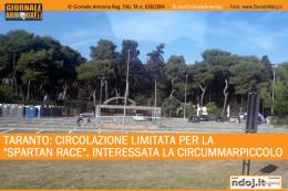 taranto-circolazione-limitata-per-la-spartan-race-interessata-la-circummarpiccolo