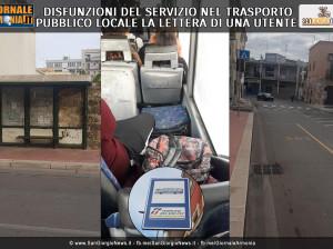 DISFUNZIONI DEL SERVIZIO NEL TRASPORTO PUBBLICO LOCALE LA LETTERA DI UNA UTENTE