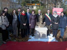 INTERVISTA AL SINDACO DI PARMA. INAUGURAZIONE DEL MONUMENTO A GIORGIO CASTRIOTA SCANDERBEG