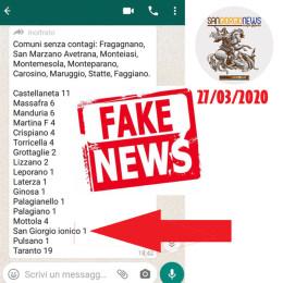Sta circolando su Whatsapp una lista di fonte