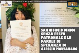 Ci volevano le belle parole che Alessia Montanaro