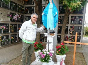 RESTAURATA LA MADONNINA DEL CIMITERO COMUNALE SAN GIORGIO IONICO (3)
