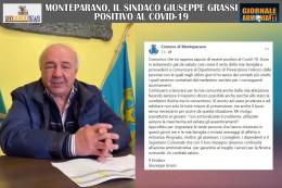 MONTEPARANO, IL SINDACO GIUSEPPE GRASSI POSITIVO AL COVID-19