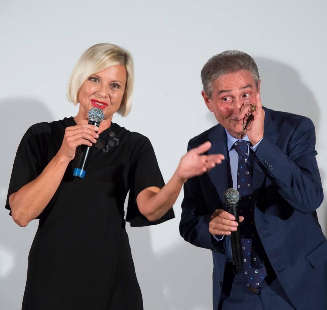 Antonella Elia e Piero Pacchiarotti