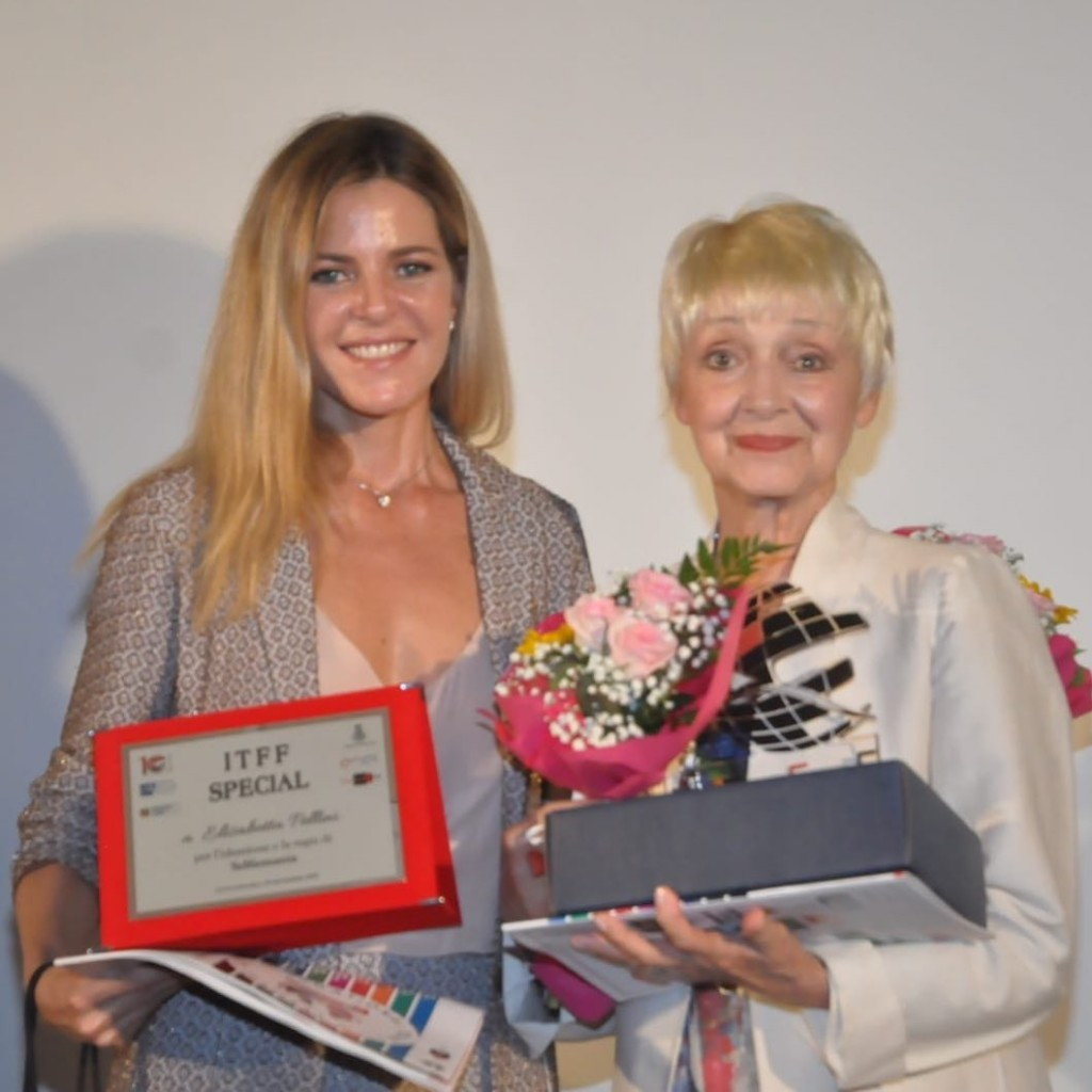 Elisabetta Pellini e Milena Vukotic